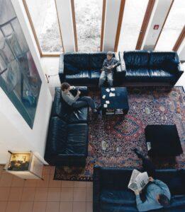 Hotel Windegg, Halle von oben