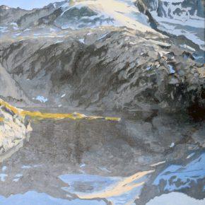 Der See und das Eis, Reichenspitze, 2015