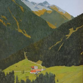 Der blaue Berg, Stubaital, 2018